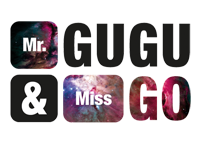Mr GUGU & Miss GO logo